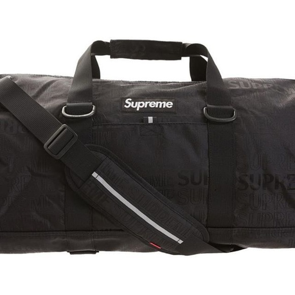 Supreme Other - Supreme Duffel Bag ss19 Black